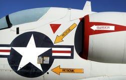 Grafici dell'aeroplano Fotografia Stock Libera da Diritti