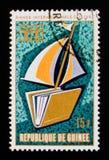 Grafici dell'anno internazionale del libro, circa 1972 Fotografia Stock Libera da Diritti
