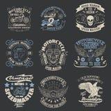 Grafici della maglietta Fotografia Stock