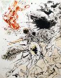 Grafici di Don Quichotte Immagine Stock