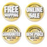 Grafici in linea di vendita Fotografie Stock