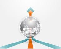 Grafici moderni dell'insieme e di informazioni di infographics Immagine Stock