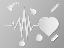 Grafici per le scienze mediche Fotografie Stock