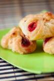 Grafici a torta della frutta Fotografia Stock