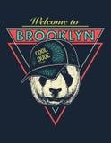 Grafici urbani d'annata della maglietta di tipografia Immagini Stock