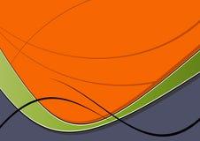 Grafico astratto dell'onda Fotografie Stock