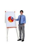 Grafico che mostra rendimento energetico Fotografia Stock