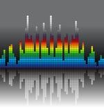 Grafico colorato Fotografia Stock