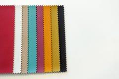 Grafico a colori del tessuto per la decorazione Fotografia Stock
