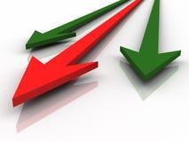 Grafico commerciale Immagini Stock