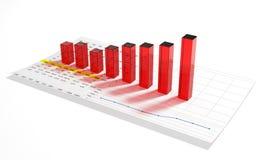 Grafico commerciale Fotografia Stock Libera da Diritti