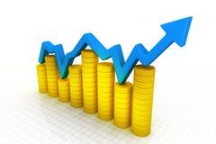 Grafico commerciale Fotografie Stock