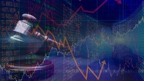 Grafico commerciale digitale concettuale di rappresentazione di animazione stock footage