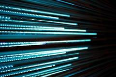 Grafico Defocused del bokeh della linea di luci Fotografia Stock
