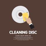 Grafico del disco di pulizia Immagini Stock