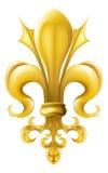 Grafico del Fleur-de-lis Fotografie Stock Libere da Diritti
