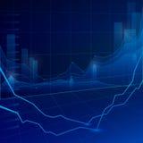 Grafico del mercato azionario royalty illustrazione gratis