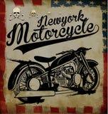 Grafico del T del motociclo royalty illustrazione gratis