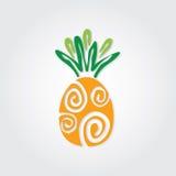 Grafico dell'ananas Fotografia Stock Libera da Diritti
