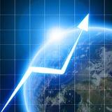 Grafico della freccia Immagini Stock