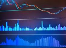 Grafico di economia del mondo Vista concettuale mercato dei cambi royalty illustrazione gratis