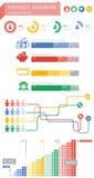 Grafico di finanza Fotografie Stock Libere da Diritti