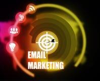 Grafico di piano di concetto di vendita del email royalty illustrazione gratis