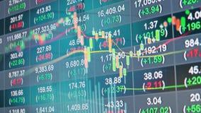 Grafico di riserva nella doppia esposizione stock footage