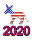 Grafico di simbolo del partito di elezione 2020 Fotografie Stock