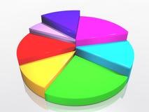 Grafico di successo Fotografia Stock Libera da Diritti