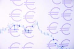 Grafico di valuta Immagini Stock