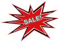 Grafico di vendita fotografie stock