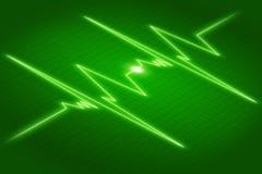 Grafico ECG Immagine Stock