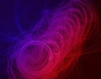 Grafico fattoriale di colore astratto Fotografia Stock Libera da Diritti