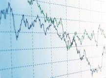 Grafico finanziario Immagine Stock Libera da Diritti