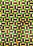Grafico geometrico Fotografia Stock