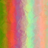 Grafico geometrico astratto rosa verde arancio di progettazione del fondo Fotografia Stock