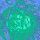 Grafico geometrico astratto verde blu di progettazione del fondo Fotografia Stock Libera da Diritti