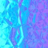 Grafico geometrico astratto viola blu di progettazione del fondo Fotografia Stock