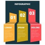 Grafico infographic astratto Immagine Stock Libera da Diritti