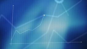 Grafico lineare animato del grafico di Infographics come concetto di tecnologia, di affari, di finanza o di economia royalty illustrazione gratis