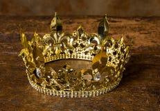 Grafico medievale eps10 di crown Immagine Stock