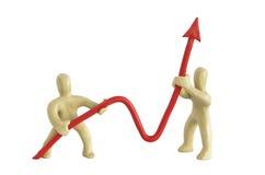 Grafico positivo Immagine Stock Libera da Diritti