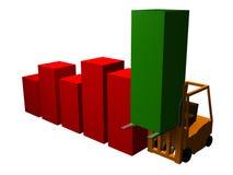 Grafico sollevato 3 Fotografia Stock Libera da Diritti