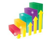 Grafico a strisce Immagine Stock Libera da Diritti