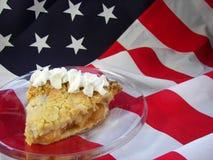 Grafico a torta americano Fotografia Stock