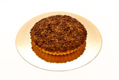 Grafico a torta con cioccolato Fotografie Stock