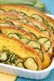 Grafico a torta cotto di zucca e del pane Fotografia Stock