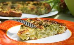 Grafico a torta del broccolo Fotografia Stock Libera da Diritti