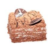 Grafico a torta del cioccolato Fotografie Stock